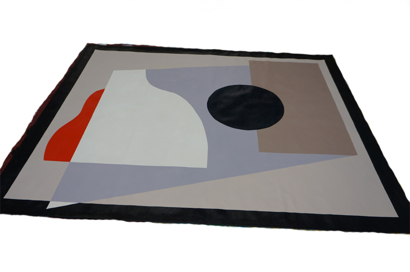 Andrea Trace Retail Abstract Floor Cloth